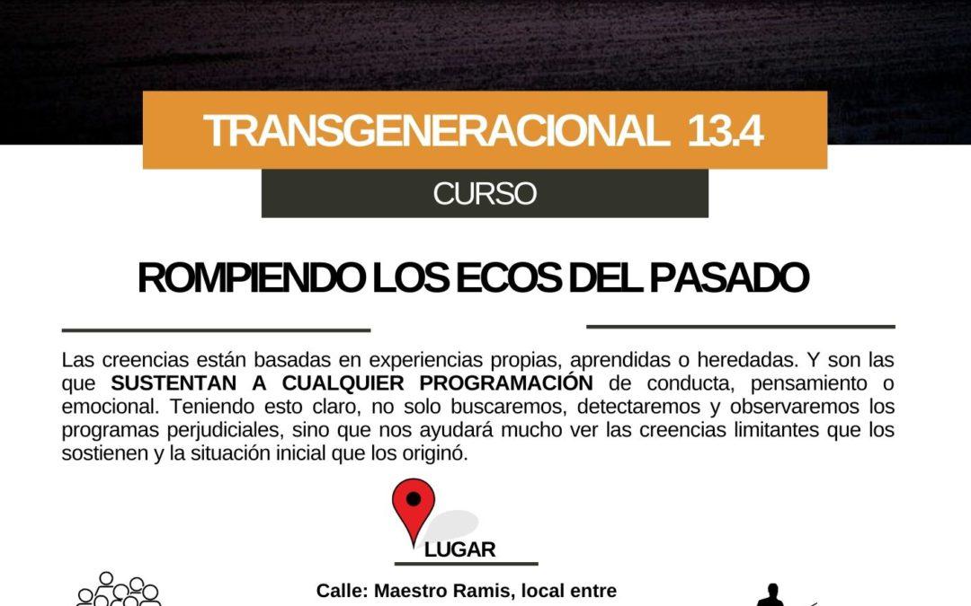 Taller Práctico de Transgeneracional 13.4 (Novelda)